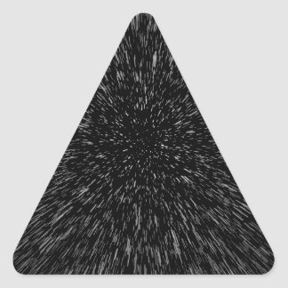 Lightspeed Triangle Sticker