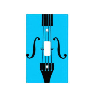 Lightswitch cover - Bass Strings- Pick your color! Switch Plate Covers
