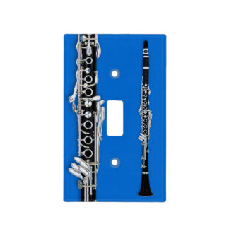 Lightswitch cover - Clarinet - Pick your color! Light Switch Plate