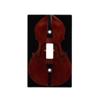 Lightswitch cover - Double (Upright) Bass Light Switch Covers