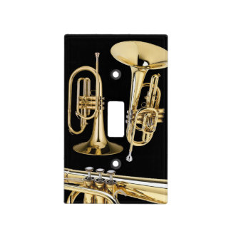 Lightswitch cover - Mellophone - Pick your color! Switch Plate Cover