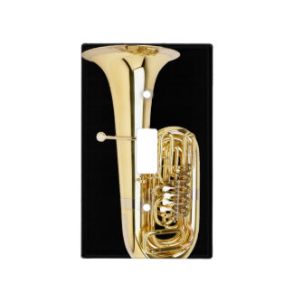 Lightswitch cover - Tuba - Pick your color!