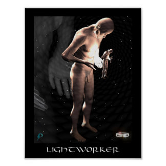 Lightworker (8.5 by 11) poster