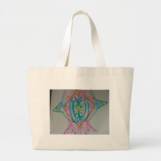 Lightworker Alignment Activation Large Tote Bag