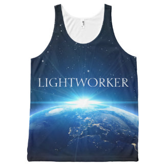 Lightworker Tank (Unisex) All-Over Print Tank Top