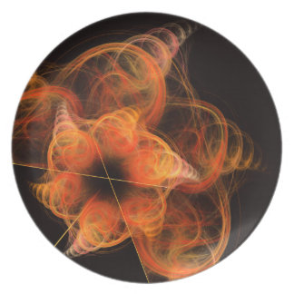 Lightworks Abstract Art Plate