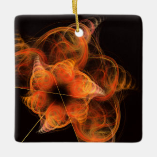Lightworks Abstract Art Square Ornament