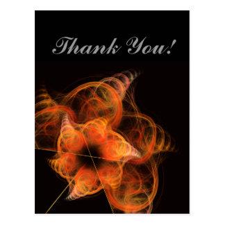 Lightworks Thank You Postcard