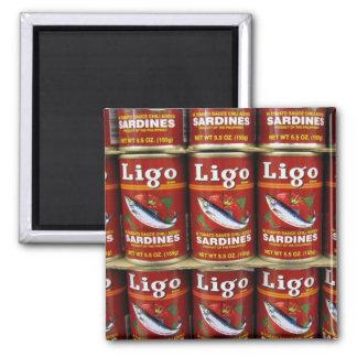 Ligo Sardine Can Magnet