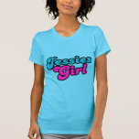 Ligón 80s del chica de Jessies retro Camiseta