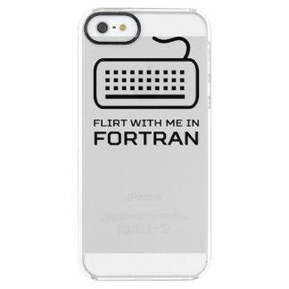 Ligón conmigo en el FORTRAN Funda Clearly™ Deflector Para iPhone 5 De Uncommon