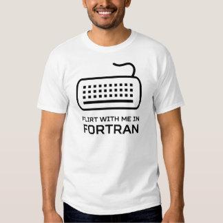 Ligón conmigo en el FORTRAN Playeras