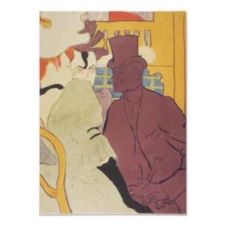 Ligón de Enrique de Toulouse-Lautrec Invitación 11,4 X 15,8 Cm