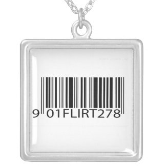 Ligón del código de barras colgante personalizado