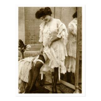 Ligón del francés - vintage modelo postal