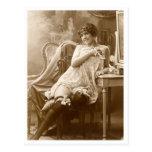 Ligón del francés - vintage modelo postales