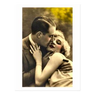 Ligón del francés - vintage romántico postal