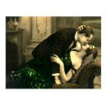 Ligón del francés - vintage romántico tarjetas postales