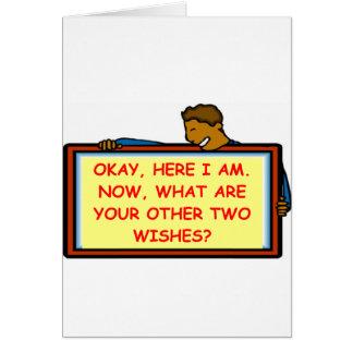ligón tarjeta de felicitación