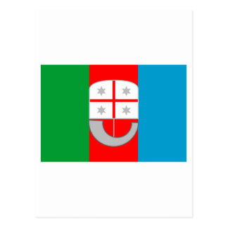 Liguria flag postcard
