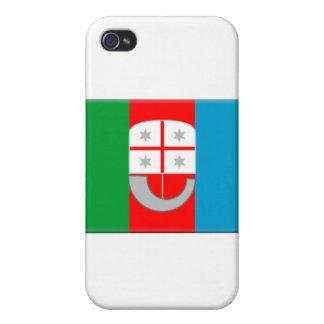 Liguria-Italia iPhone 4 Protectores