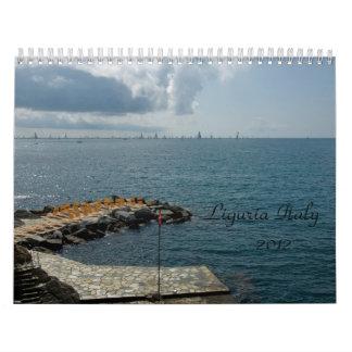 Liguria Italy  2012 Calendar