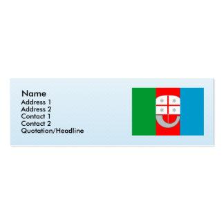 Liguria, Italy Business Card Template