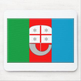 Liguria Italy Flag Mouse Pads