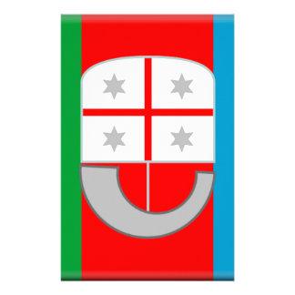 Liguria (Italy) Flag Customized Stationery