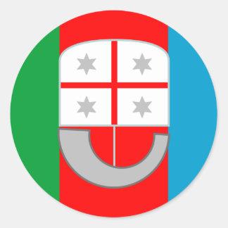 Liguria (Italy) Flag Sticker