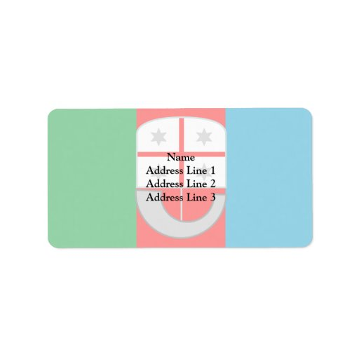 Liguria, Italy Personalized Address Labels