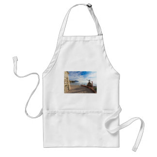 Liguria - promenade in Sori Adult Apron