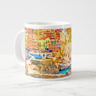 Ligurian Sea Paradise ~ Jumbo 20 oz. Mug