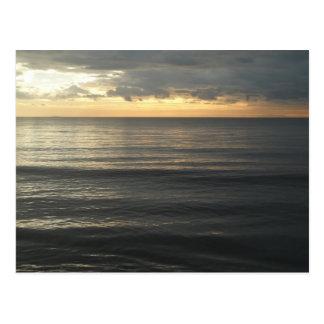 Ligurian Sea Sunset Postcard