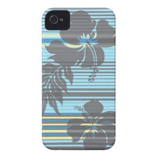 Lihue Hibiscus Stripe Hawaiian iPhone 4 Cases