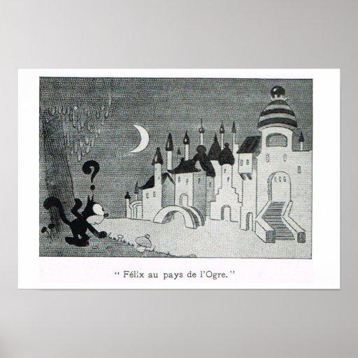 L'Iiustration 1931, Felix en la tierra del ogro Posters