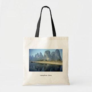 Lijang River, China Budget Tote Bag
