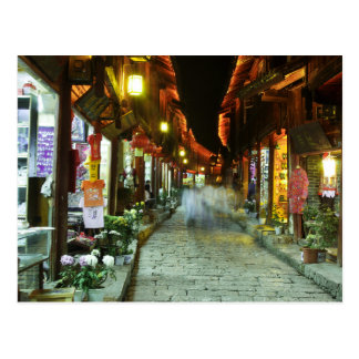 Lijiang Night Market Postcard