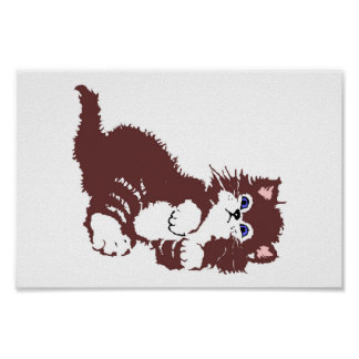 likable cat,puss,pussycat poster