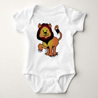 Likable Lion Baby Bodysuit