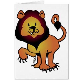 Likable Lion Card