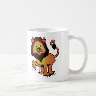 Likable Lion Coffee Mug