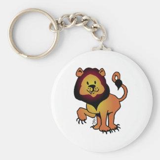 Likable Lion Keychain