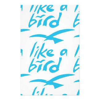 like_a_bird stationery