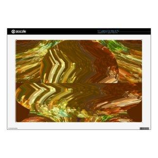 """Like a blk thread, my arts r 4 yr personal joy 17"""" laptop skin"""