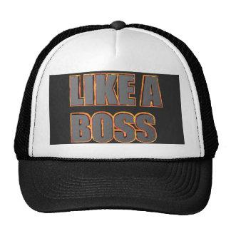 LIKE A BOSS Cap Trucker Hat