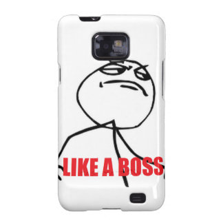 Like a Boss Galaxy S2 Cover