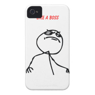 Like a Boss Case-Mate iPhone 4 Case