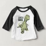 Like a Boss Dinosaur Baby T-Shirt
