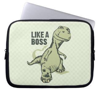 Like a Boss Dinosaur Computer Sleeve